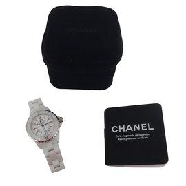 Chanel-MONTRE CHANEL J12-Blanc
