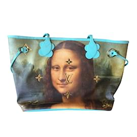 Louis Vuitton-Sacs à dos-Bleu