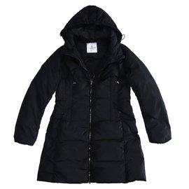 Moncler-Coats, Outerwear-Black