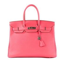 Hermès-Stunning and rare Hermes Birkin 35 leather Togo Lipstick 93e6a523d0b4b