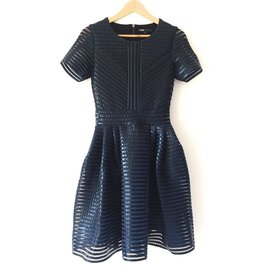 Maje-Dresses-Black,Blue