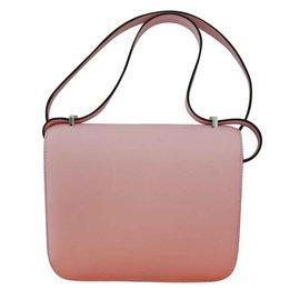 Hermès-Hermès constance mini-Pink
