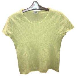 Chanel-Knitwear-Light green