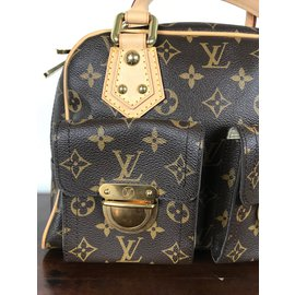 Louis Vuitton-Manhattan-Marron foncé
