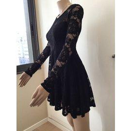 Guess-Lace dress-Black