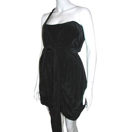 Zimmermann-Silk dress-Black