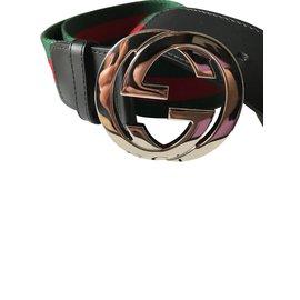 Gucci-Ceinture Web-Multicolore