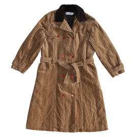 Christian Dior-Girl Coats outerwear-Brown