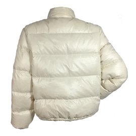 Moncler-Moncler down jacket-Cream