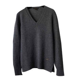 Louis Vuitton-Pull en cachemire Louis Vuitton-Gris