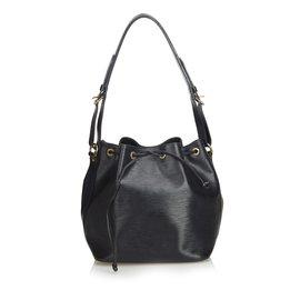 Louis Vuitton-Epi Petit Noé-Noir ... f0fbf7340dde