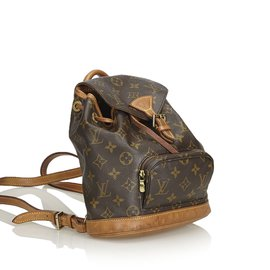Louis Vuitton-Monogramme Mini Montsouris-Marron