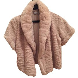 Yves Salomon-Yves Salomon fur vest coat-Cream