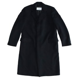 Aquascutum-Men Coats Outerwear-Black