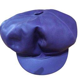 Hermès-Chapeaux-Violet