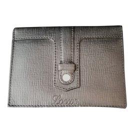 Loewe-Superb Loewe wallet card holder-Black