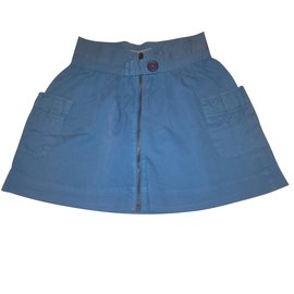 Zara-Skirts-Blue