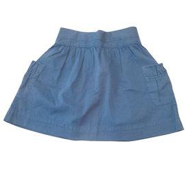 Zara-Jupes-Bleu