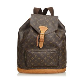 Louis Vuitton-Monogramme Montsouris GM-Marron