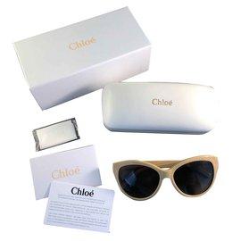 Chloé-Sunglasses-Beige