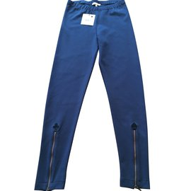 Jean Paul Gaultier-Jibsy pants by Gaultier Junior-Navy blue
