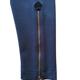 Jean Paul Gaultier-Pantalon Jibsy de Gaultier Junior-Bleu Marine