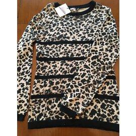 Jean Paul Gaultier-Pull Graffe de Gaultier Junior-Imprimé léopard