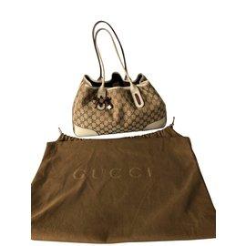 Gucci-Sacs à main-Beige