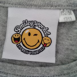 Autre Marque-Smiley World-Gris