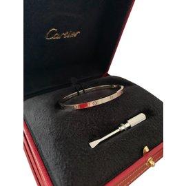 Cartier-Bracelet love cartier fin 17-Blanc