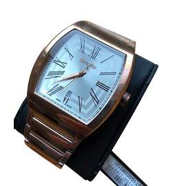 383bd6e43a Smalto-Montre-bracelet pour homme SMALTO NOUVEAU-Doré ...