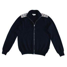 Aquascutum-Sweaters-Dark blue