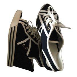 Ralph Lauren-Sandalen-Weiß