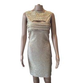 Just Cavalli-Dresses-Golden