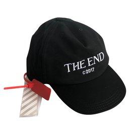 Off White-Hats Beanies-Black