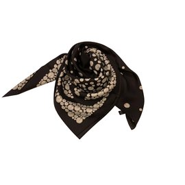 Chanel-SCARF CHANEL SILK-Black