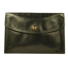 Hermès-Rio Hermes clutch-Black