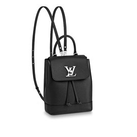 Louis Vuitton-Mini sac à dos Lockme Louis Vuitton-Noir