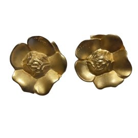 Kenzo-Earrings-Golden