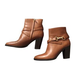 Burberry-Ankle Boots-Light brown,Caramel