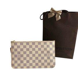 Louis Vuitton-Clutch Azur-Beige