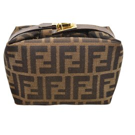 Fendi-Fendi Vanity Cosmetic-Marron