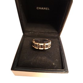 Chanel-ULTRA GOLD YELLOW CERAMIC BLACK-Golden
