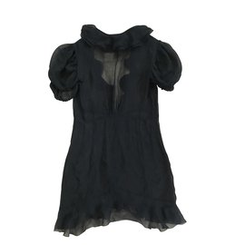 Chanel-Tops-Black