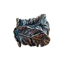 Autre Marque-Giovanni raspini Bague feuilles-Argenté