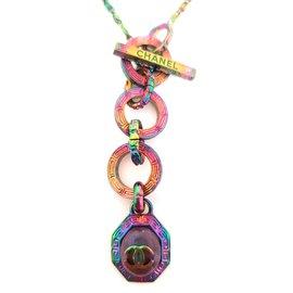 Chanel-Collier iridescent-Autre