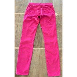 Gap-jeans's pink velvet leggings Gap 1969 T.26 x 32-Pink