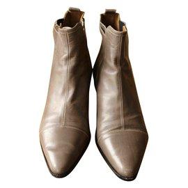 Hermès-Ankle boots - trotter-Grey