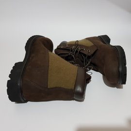 Timberland-Boots-Brown,Green