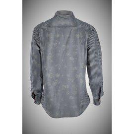Napapijri-chemises-Bleu,Beige